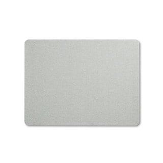 Quartet Oval Office Fabric Bulletin Board 48 x 36 Grey