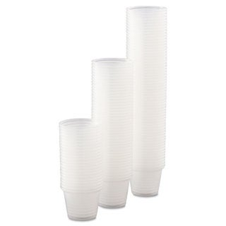 Dart Conex Complements Portion/Medicine Cups 1oz Clear 125/Bag 20 Bags/Carton