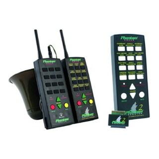 Extreme Dimension Wildlife Phantom Pro-Series Black Plastic Wireless Remote Predator/Predator 2 Combo Sound Lure