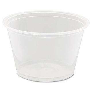 Dart Conex Complements Portion/Medicine Cups 4oz Clear 125/Bag 20 Bags/Carton