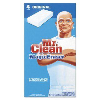 Mr. Clean Magic Eraser - All Purpose 2 2/5-inch x 4 3/5-inch 1-inch Thick White