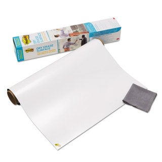 Post-it Dry Erase Surface with Adhesive Backing 36 x 24 White