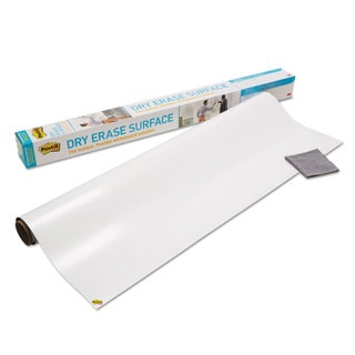 Post-it Dry Erase Surface with Adhesive Backing 48 x 36 White