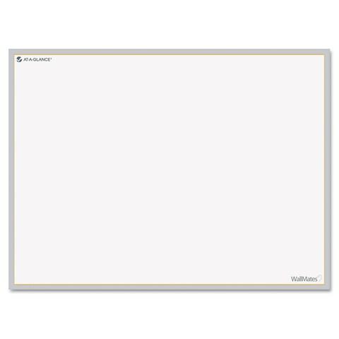 AT-A-GLANCE WallMates Self-Adhesive Dry Erase Writing Surface 24 x 18