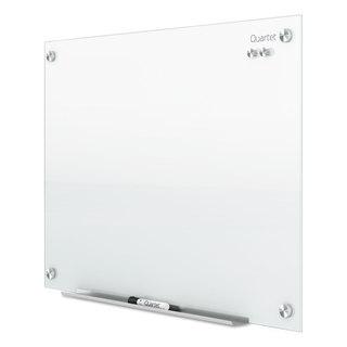 Quartet Infinity Magnetic Glass Marker Board 24 x18 White