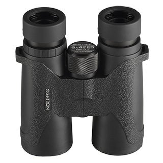 Sightron SIII Series Binoculars 8x42mm, Roof Prism, Black Rubber Finish