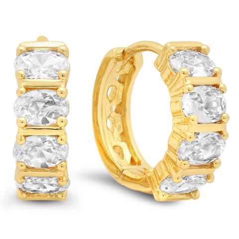 Piatella Ladies Gold Tone Cubic Zirconia Lined s