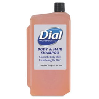 Dial Professional Body & Hair Care Peach 1 L Refill Cartridge 8/Carton