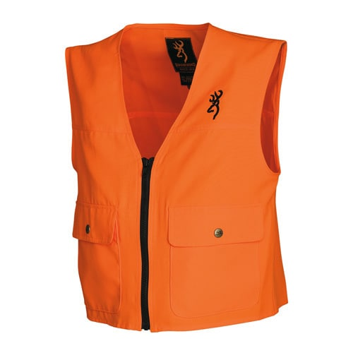 Browning Junior Blaze Orange Safety Vest