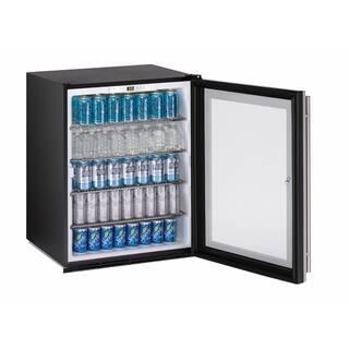 U-Line ADA Series- 24 Inch ADA Compliant Stainless Steel Glass Door All Refrigerator w/ Lock https://ak1.ostkcdn.com/images/products/13870655/P20510528.jpg?impolicy=medium