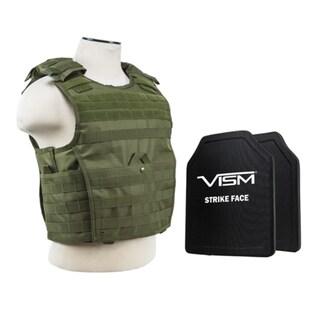 NcStar Expert PE Hard Plated Green Carrier Vest