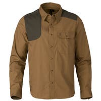 Browning Austin Taupe/Loden Long-sleeved Shooting Shirt