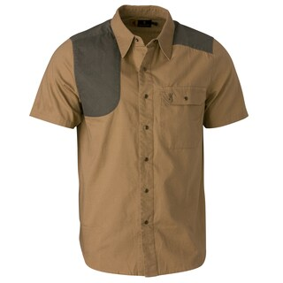 Browning Austin Taupe/Loden Short-sleeve Shooting Shirt (2 options available)