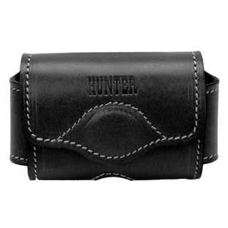 Hunter Company Adjustable Cell Phone Holster Leather Black