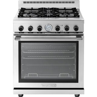 "Tecnogas Superiore Range NEXT 30"" Panorama 4 Buner Stainless steel"