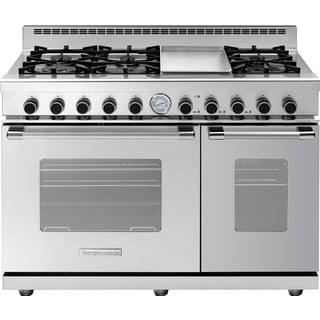 "Tecnogas Superioire Range NEXT 48"" Classic Stainless Steel 6 Burner"