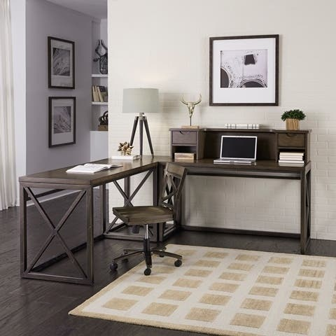Xcel Home Office 5 Piece Ensemble by Home Styles