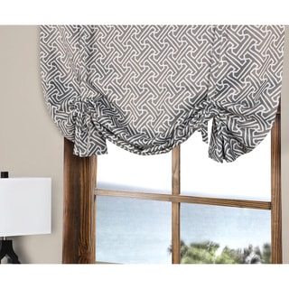 Exclusive Fabrics 63-inch Long Blackout Tie-Up Window Shade