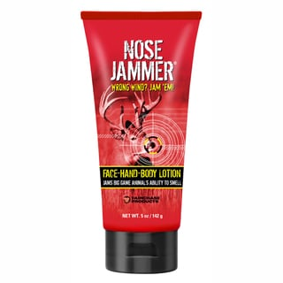 Nose Jammer 5 oz Face-Hand-Body Lotion 6 Count Open Stock Case
