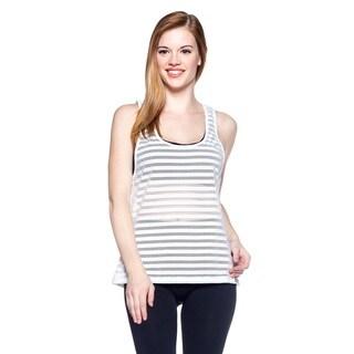 Women's Active Mesh Sleeveless Tank Top
