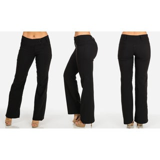 Women's Black Casual/Work Pants