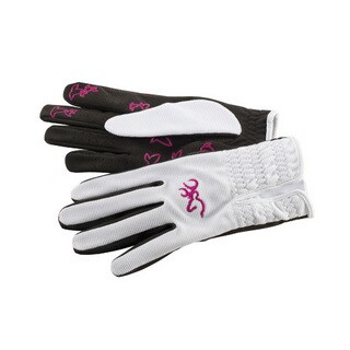 Browning Women's Trapper Creek White Suede Gloves