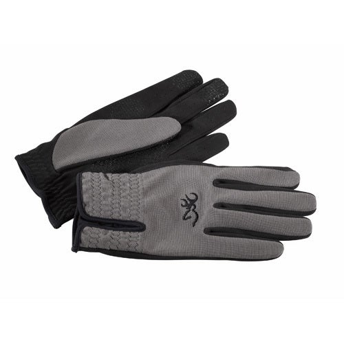 Browning Trapper Creek Charcoal Synthetic Suede Glove