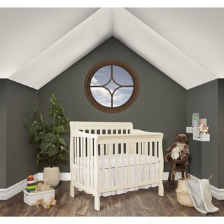 Dream On Me Aden Convertible 4-in-1 Mini Crib