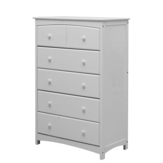 Dream on Me Freeport White Wood Contemporary 5-drawer Chest