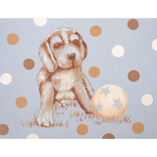 Marmont Hill - 'Sparky' by Reesa Qualia Painting Print on Wrapped Canvas