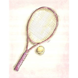 Marmont Hill - 'Racket' by Reesa Qualia Painting Print on Wrapped Canvas