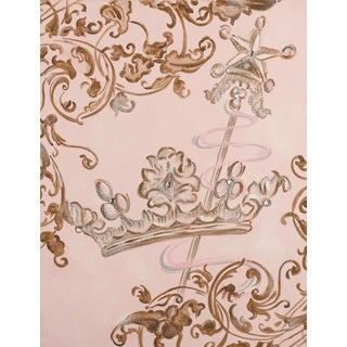 Marmont Hill - 'Lavish Crown' by Reesa Qualia Painting Print on Wrapped Canvas