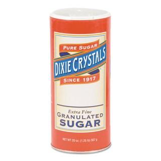 Diamond Crystal Granulated Sugar 20-ounce Canister 24/Carton