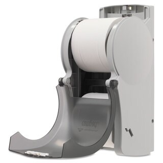 Georgia Pacific Professional Vertical Double Roll Coreless Tissue Dispenser 6 x 6 1/2 x 13 1/2 Smoke