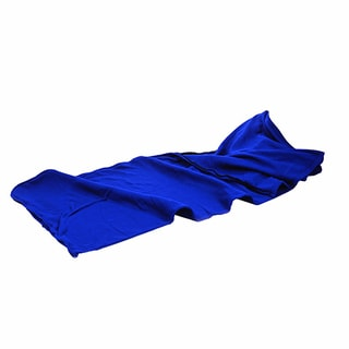 Tex Sport Blue Fleece Sleeping Bag