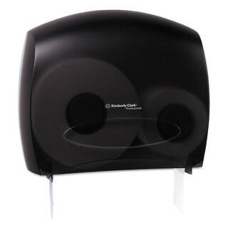 Kimberly-Clark Professional* In-Sight JRT Jr. Tissue Dispenser with Stub, 13 22/25w x 5 3/4d x 16h, Trans Smoke