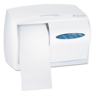 Kimberly-Clark Professional Coreless Double Roll Tissue Dispenser 11 1/10 x 6 x 7 5/8 White