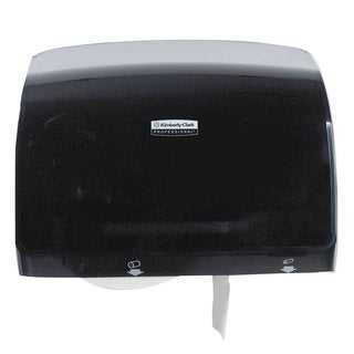 Kimberly-Clark Professional Coreless JRT Tissue Dispenser 14 1/10-inch wide x 5 4/5-inch deep x 10 2/5-inch high Black