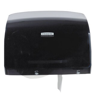Kimberly-Clark Professional Coreless JRT Tissue Dispenser 14 1/10-inch wide x 5 4/5-inch deep x 10 2/5-inch high Black