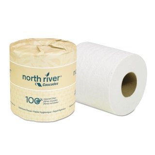 Cascades North River Standard Bathroom Tissue 2-Ply 4 x 3 3/16 500/Roll 96/Carton