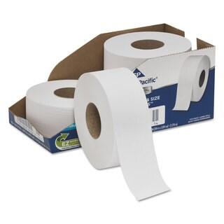 Georgia Pacific Professional White Jumbo Bathroom Tissue 2-Ply 3 1/2 x 1000 ft 9-inch Diameter 4/Carton