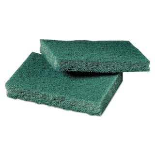 Scotch-Brite General Purpose Scrub Pad 3 x 4 1/2 Green 40 per Box