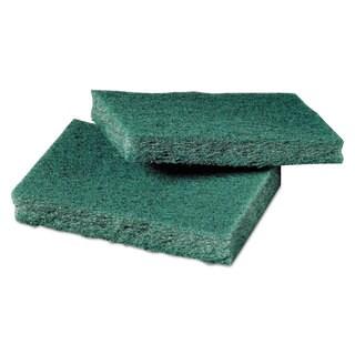 Scotch-Brite General Purpose Scrub Pad 3 x 4 1/2 Green 40 per Box