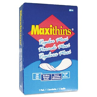 Hospital Specialty Co. Maxithins Sanitary Pads 100/Carton
