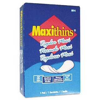 Hospital Specialty Co. Maxithins Sanitary Pads 100/Carton