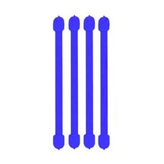 Nite Ize Blue 3-inch Gear Tie (Pack of 4)