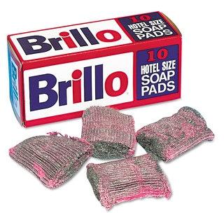 Brillo Steel Wool Soap Pad 10/Box