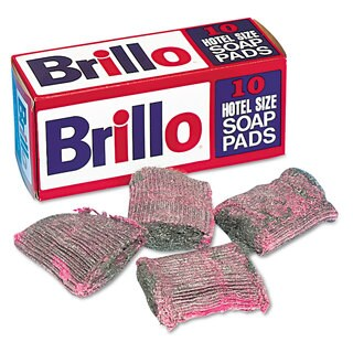 Brillo Steel Wool Soap Pad 10/Box