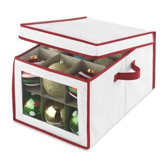 Whitmor Christmas Ornament Storage Box