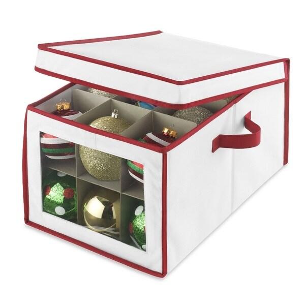 Whitmor Christmas Ornament Storage Box